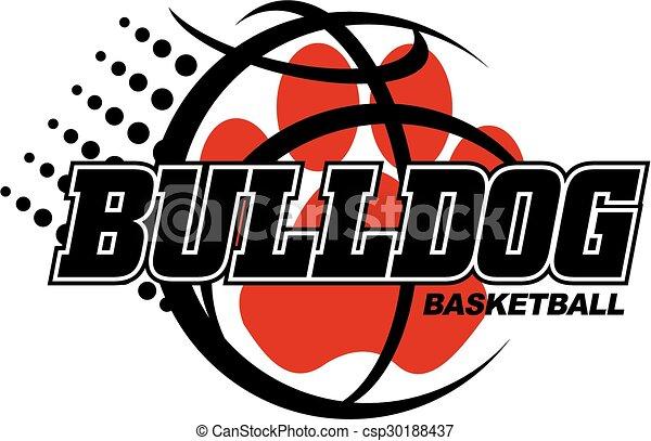 bulldog basketball - csp30188437