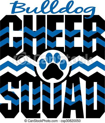 bulldog cheer squad - csp30820050