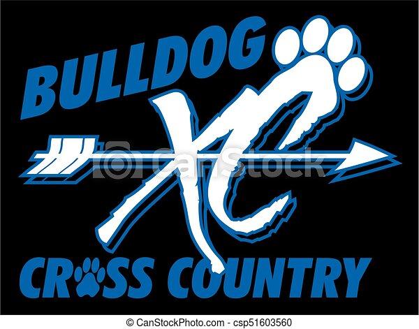 bulldog cross country - csp51603560