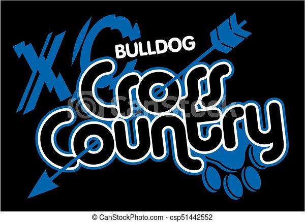 bulldog cross country - csp51442552
