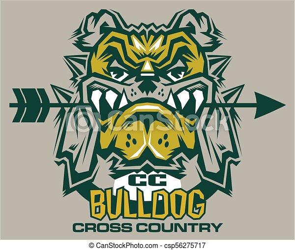 bulldog cross country - csp56275717