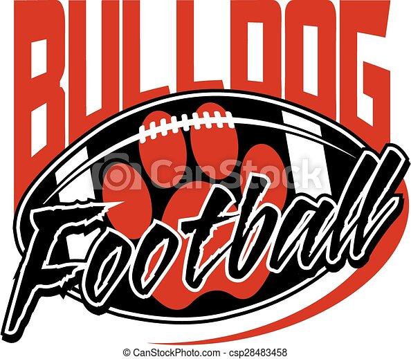 Fútbol Bulldog - csp28483458