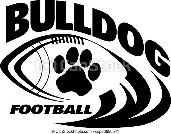 Fútbol Bulldog - csp38690541