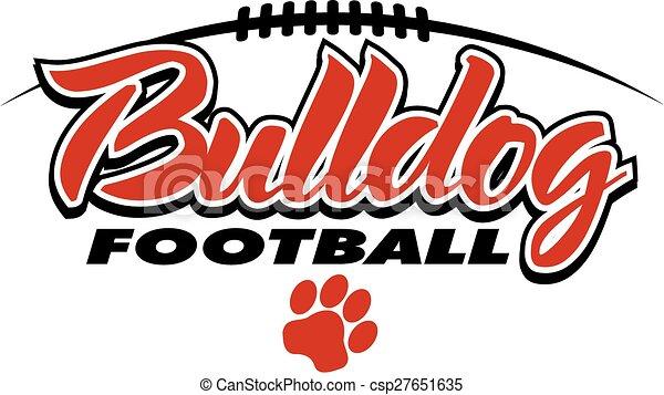 Fútbol Bulldog - csp27651635