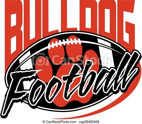 bulldog football - csp28483458