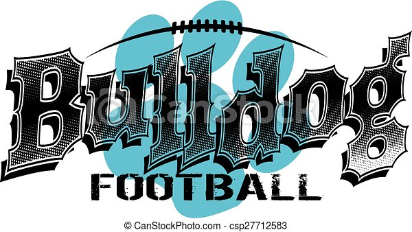 bulldog football - csp27712583