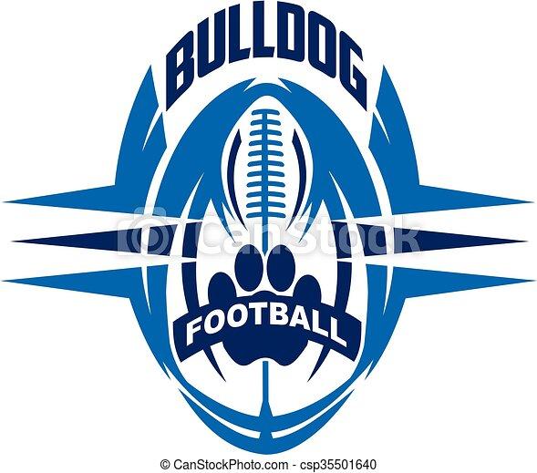 bulldog football - csp35501640
