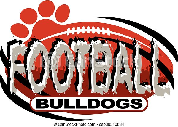 bulldog football - csp30510834