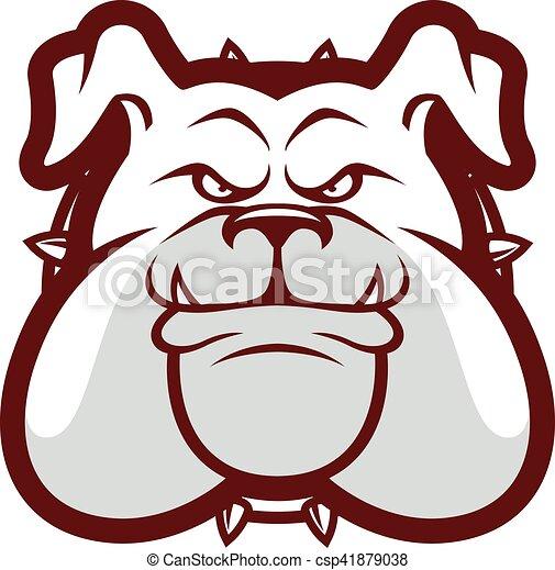 Bulldog Head Mascot Clipart Picture Of A Bulldog Head Cartoon