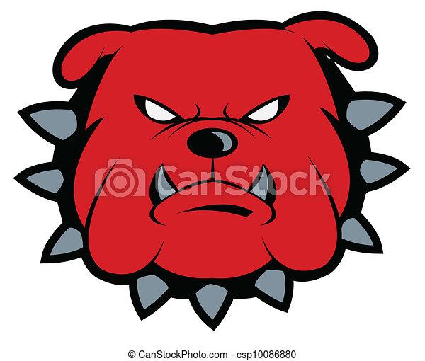 Bulldog Mascot - csp10086880