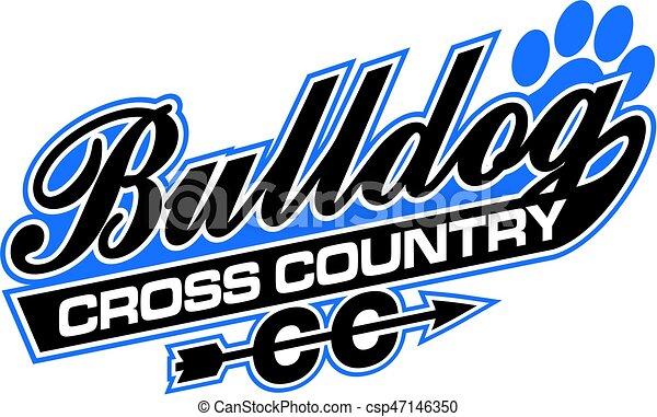 Bulldog cruza el país - csp47146350