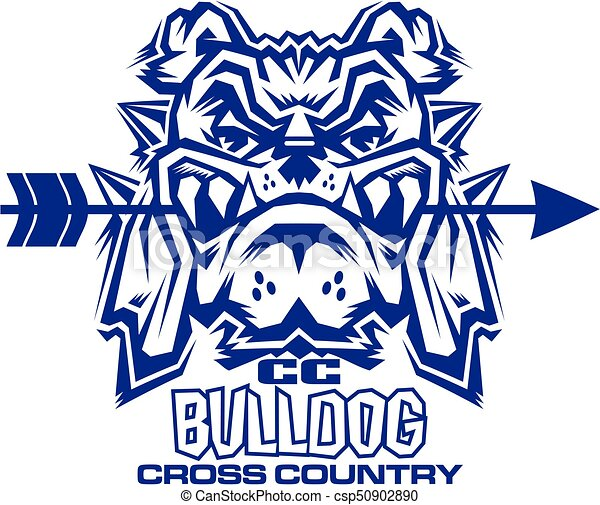 Bulldog cruza el país - csp50902890