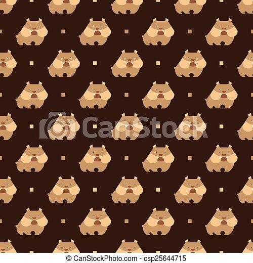 bulldog pattern - csp25644715