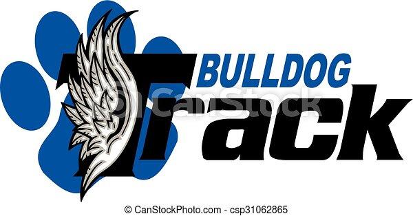 La pista de Bulldog - csp31062865