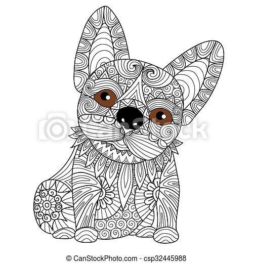 Spring Coloring Pages besides Dog Outline Coloring Page additionally 1149680 Royalty Free Dog Clipart Illustration besides 2698697 also Bulldog Puppy Coloring Page 32445988. on bulldog book