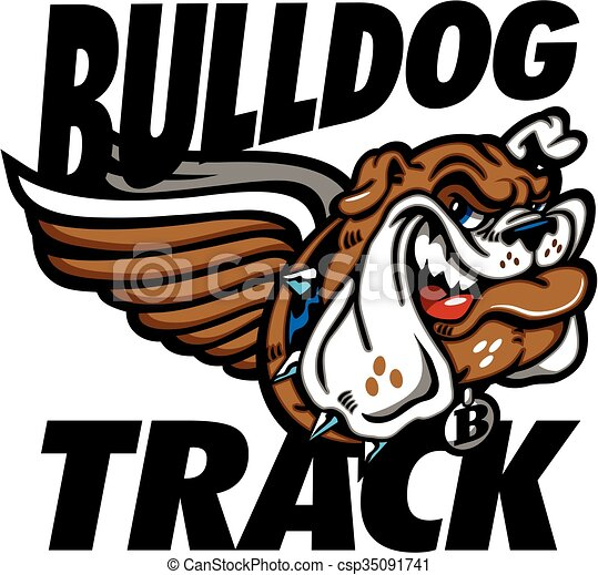 bulldog track - csp35091741