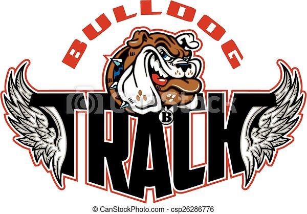bulldog track - csp26286776