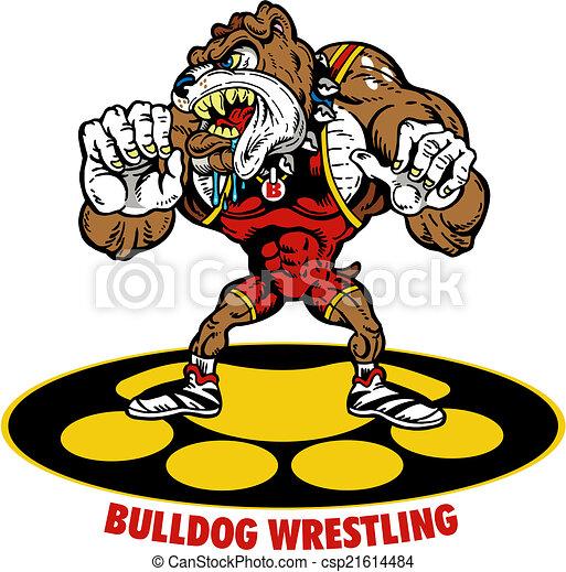 bull dog wrestling