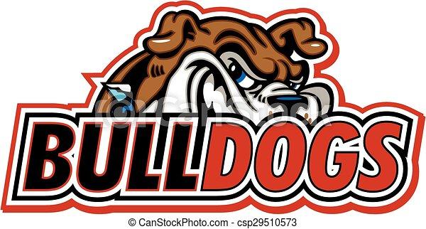 bulldogs design - csp29510573