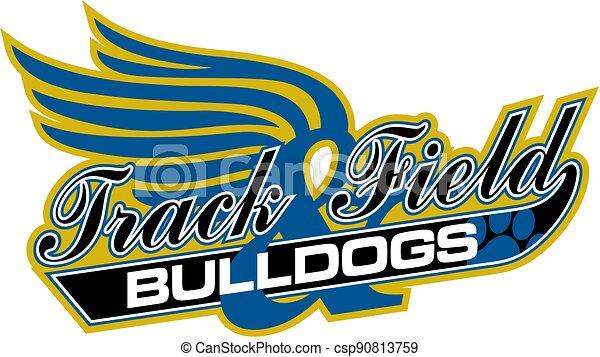 bulldogs track and field - csp90813759