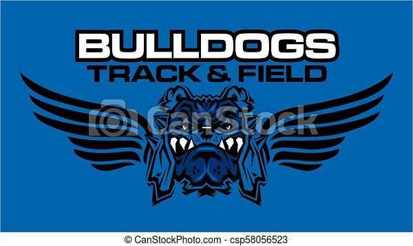 bulldogs track and field - csp58056523