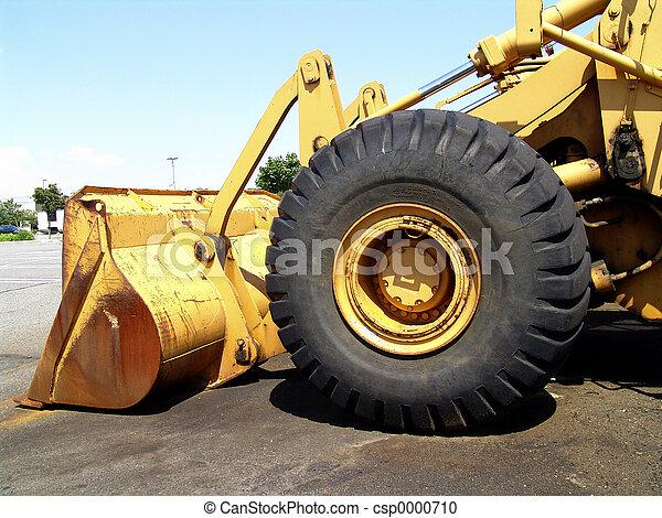 Bulldozer Wheel - csp0000710