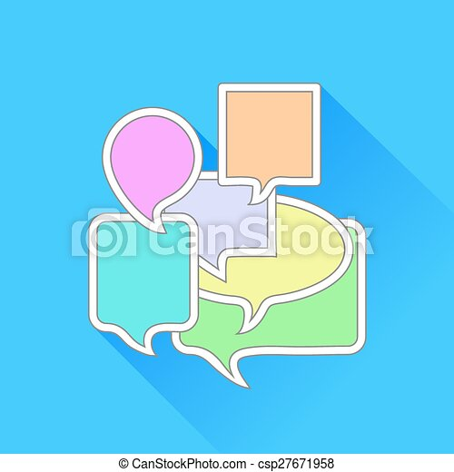 bulles, parole - csp27671958