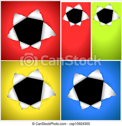 Bullet Hole Vector Backgrounds - csp10924300
