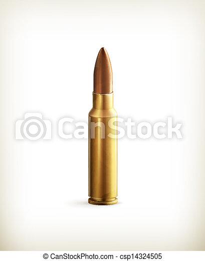 Bullet, vector - csp14324505