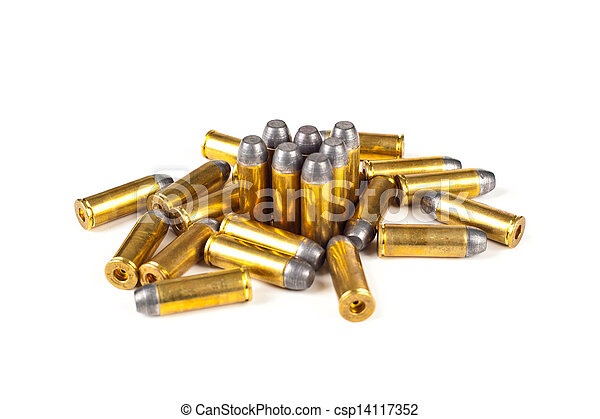 Bullets on white background - csp14117352