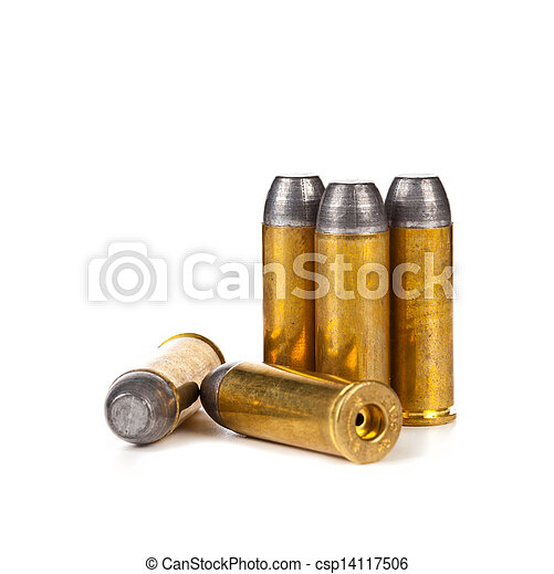 Bullets on white background - csp14117506