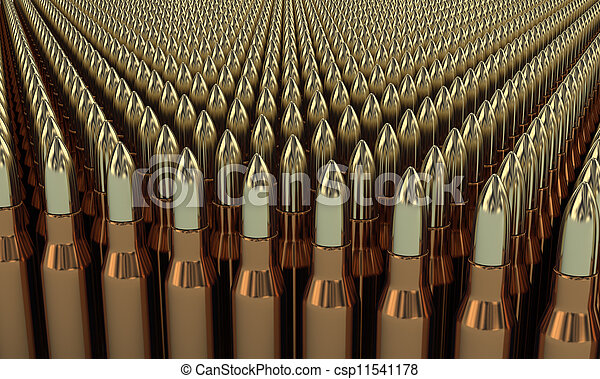 Bullets - csp11541178