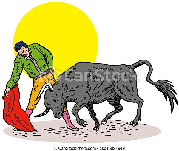 Bullfighter Matador Bullfighting - csp16021949
