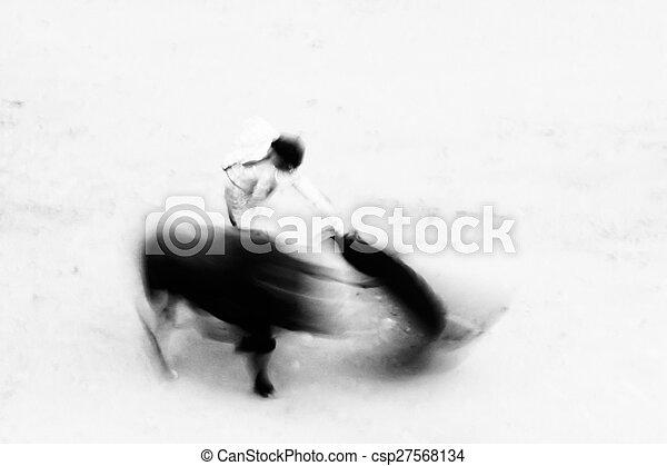 Bullfighting - csp27568134