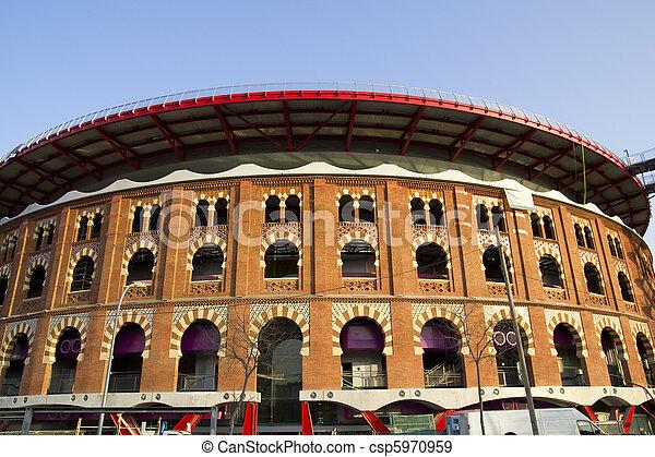 Bullring Arenas. Barcelona, Catalonia, Spain - csp5970959