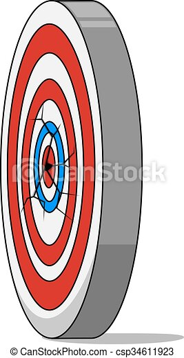 Bulls eye - csp34611923