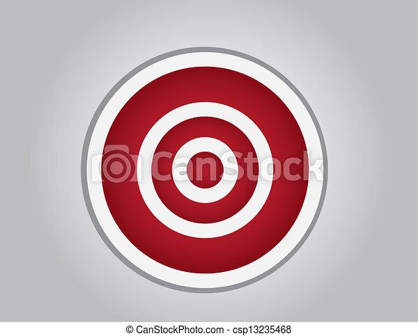 Bullseye Empty  - csp13235468