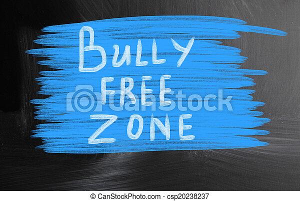 bully free zone - csp20238237