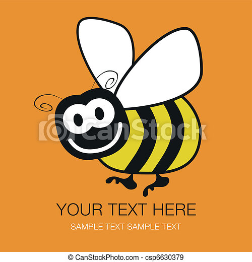 Bumble bee design. - csp6630379