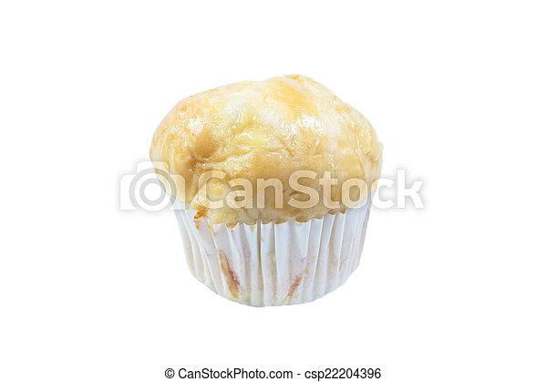 bun bread fill with pandan custard - csp22204396