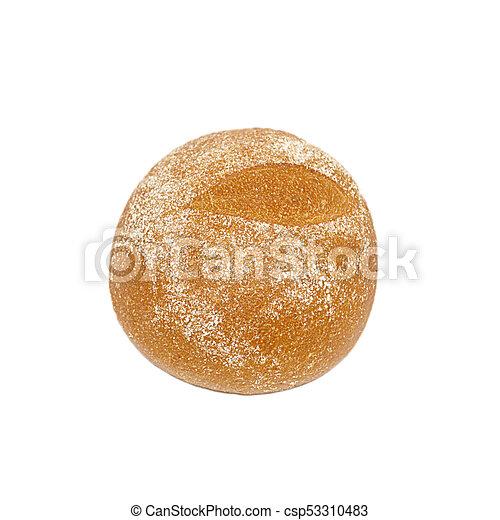 Bun isolated on white background - csp53310483