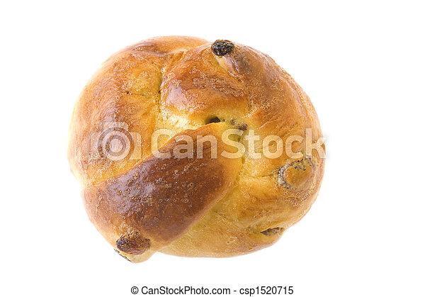 bun with sultana - csp1520715