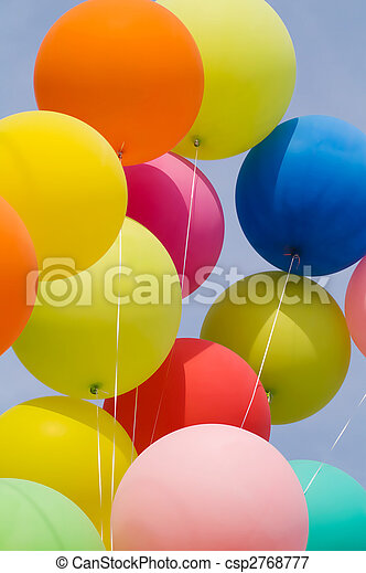 bunch of balloons - csp2768777