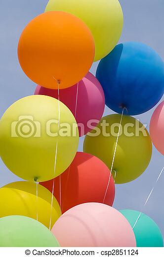 bunch of balloons - csp2851124
