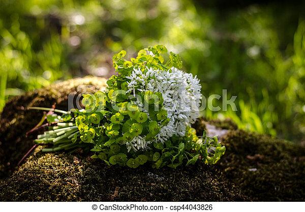 bunch of flowers - csp44043826
