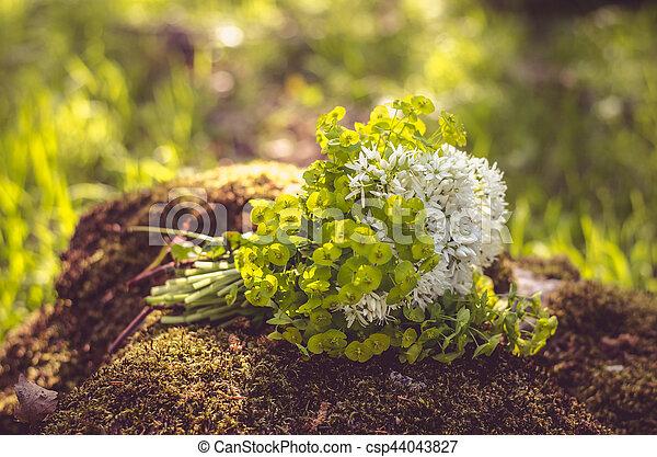 bunch of flowers - csp44043827