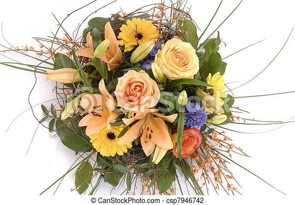 bunch of flowers - csp7946742