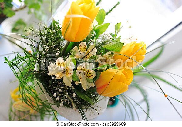 Bunch of flowers - csp5923609