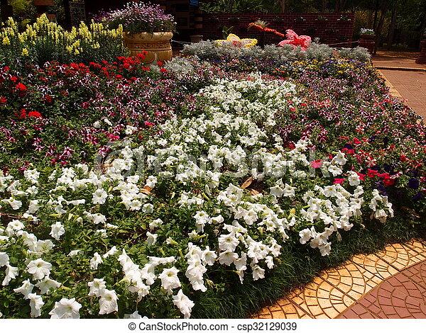 Bunch of Flowers - csp32129039