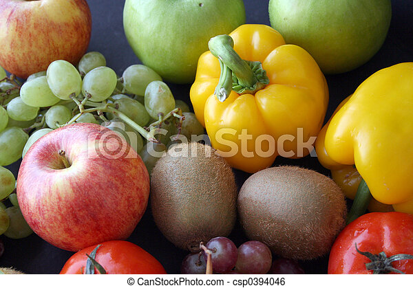 bunch of fruits & ve - csp0394046